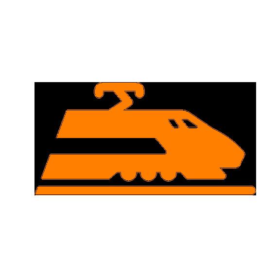 Inclui Deslocamento de trem.